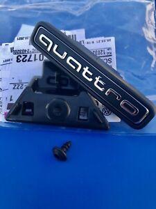 Logo Audi Quattro Black Grille Audi Tt 8S Badge Original 8R0853736E94