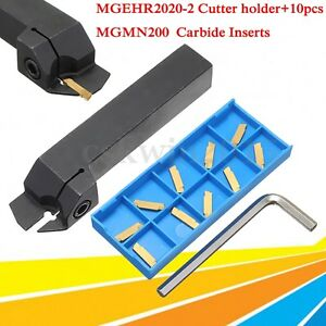 10pcs-MGMN200-2mm-Carbide-Inserts-MGEHR2020-2-CNC-Grooving-Cut-Off-Tool-Holder