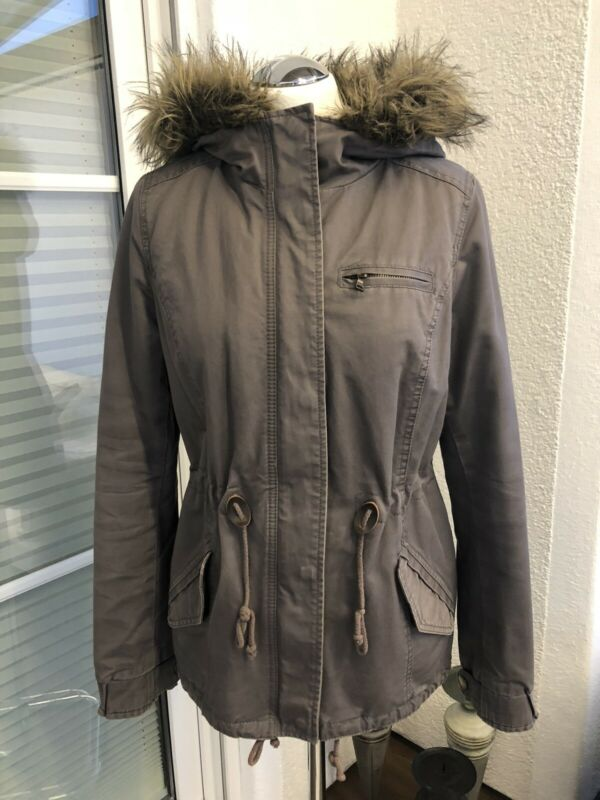 Winter Parka Von H&m Gr. 38 In Oliv