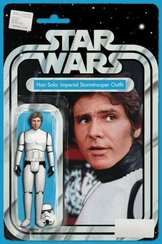 STAR WARS 74 JOHN TYLER CHRISTOPHER HAN SOLO STORM TROOPER ACTION FIGURE VARIANT