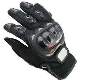 Gants-de-Moto-Protection-Moto-cross-Velo-Sport-VTT-Motard-Quad-ATV-NOIR