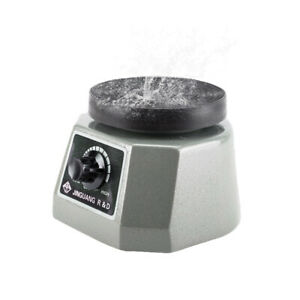 "Dental Lab VIBRATOR Oscillator Shaker Round 4"" Platform Round Variable Speed"