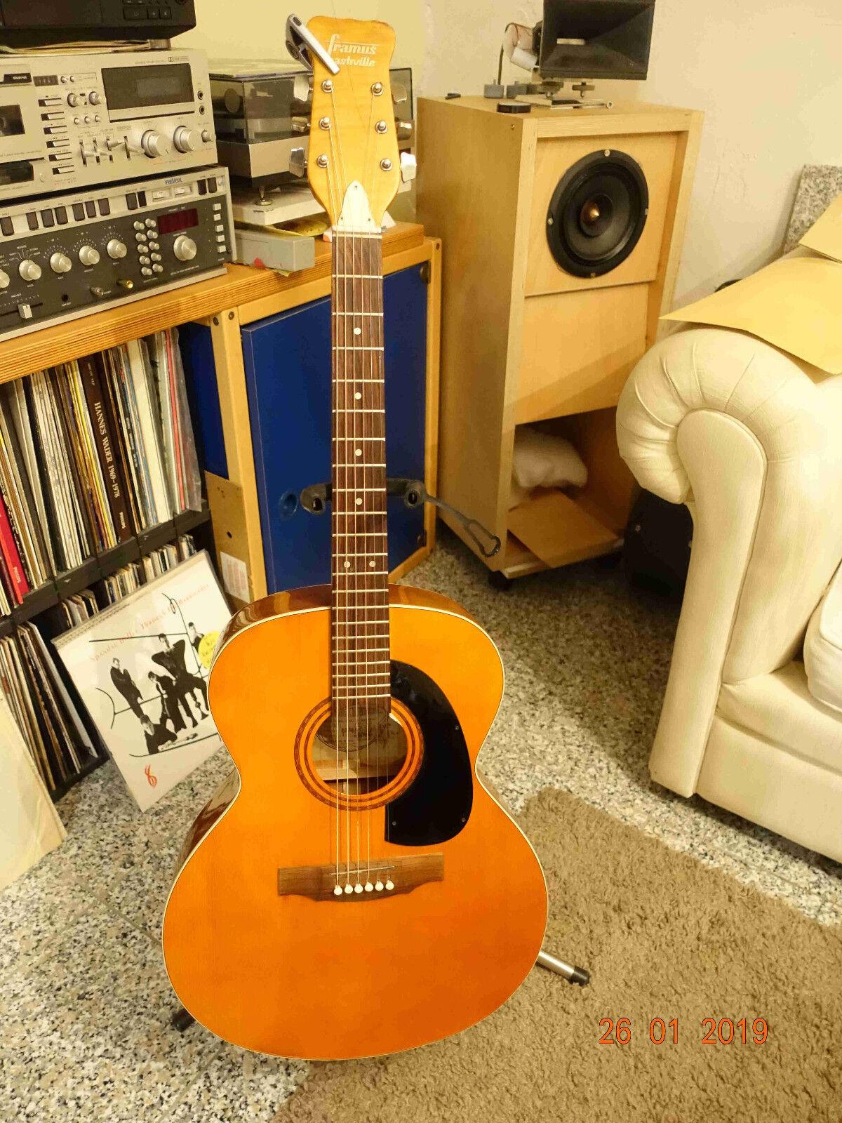 Framus Nashville Jumbo Westerngitarre Bj. 74 Modell 74   05950