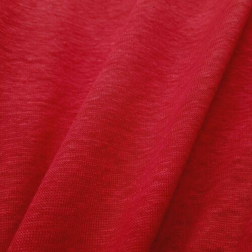Lino-Jersey en rojo