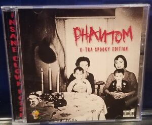 Insane Clown Posse - The Phantom X-Tra Spooky Edition CD ICP anybody killa abk