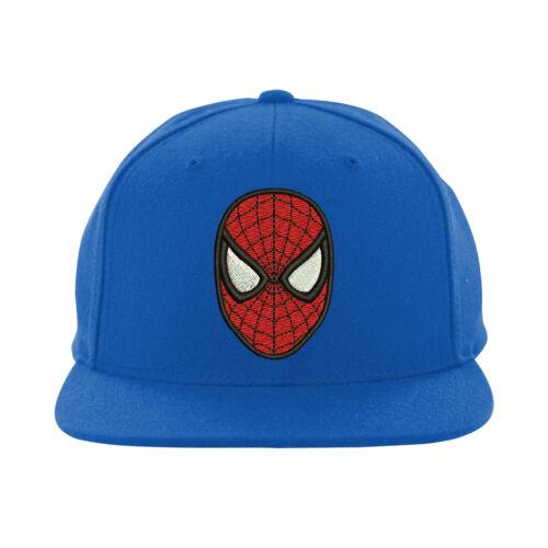 Snapback de Spiderman Spiderman visage Hat brodé Design