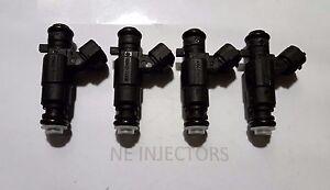 New Flow Matched 4pcs Fuel Injectors For 35310-22600 Hyundai Accent 1.5 1.6