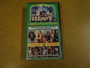 VHS-VIDEO-CASSETTE-HARD-N-039-HEAVY-VOLUME-5-VARIOUS-ARTISTS