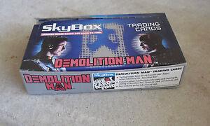 1993-Skybox-Demolition-Man-Movie-Cards-Full-Box-36-Packs-LOOK