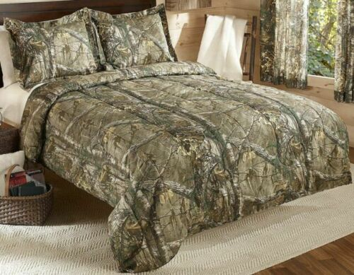 Realtree Xtra Mini Comforter Set Twin, Realtree Max 5 Bedding Set