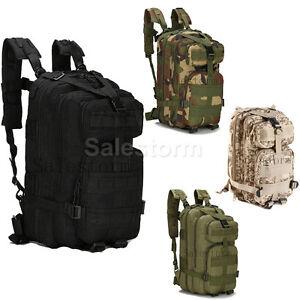 e5690a3de49a3 Das Bild wird geladen 30-40L-Sport-Army-Rucksack-Kampfrucksack-Wasserdicht- Outdoor-