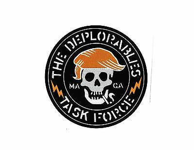 3D PVC Basket Of Deplorables GITD Rubber Patch Donald Trump 2016 MAGA Patriot 2A