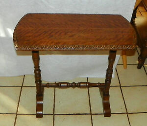Image Is Loading Tiger Walnut Entry Table End Table T527