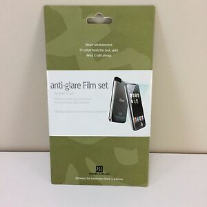 Anti-Glare-Film-Set-for-1st-Generation-iPod-Touch-Power-Support-New-Sealed-NIP