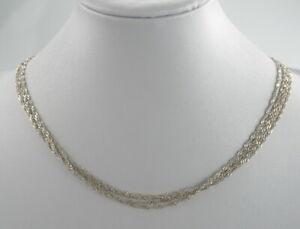 Exklusive-925er-Silber-Halskette-Singarpurkette-Sterlingsilber-Vintage-6-91-g