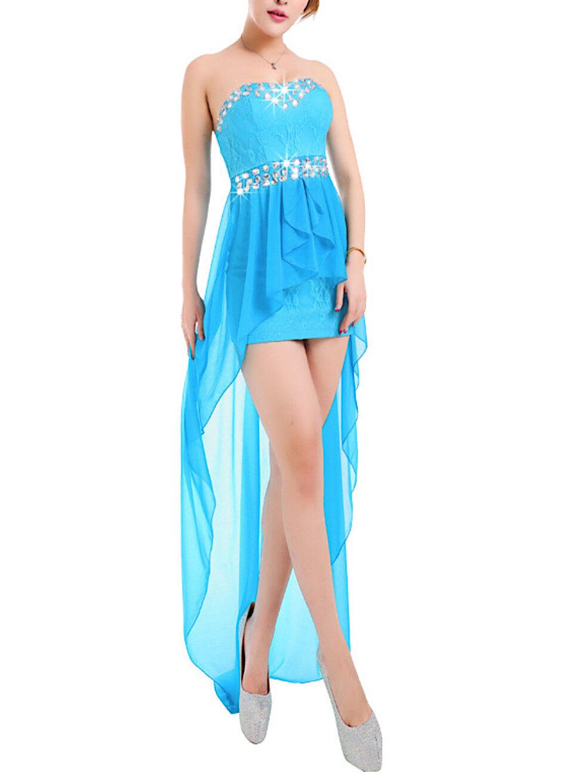 Vestito Lungo Damigella Corto Cerimonia Damigella Lungo Sposa Bridesmaid Maxi Party Dress NCE006 90f4ea