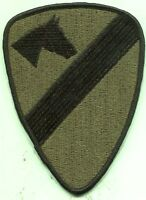 Vietnam Era Us Army 1st Cavalry Patch Subdued Reverse Side