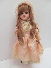 MES-49678Alte Original Porzellankopf Puppe H:ca.34cm mit Mängel,HM:DEP 4,