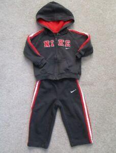 999b059457 Nike Boys 2 Piece Baby Toddler Tracksuit Full Zip Hoodie/Pants Size ...