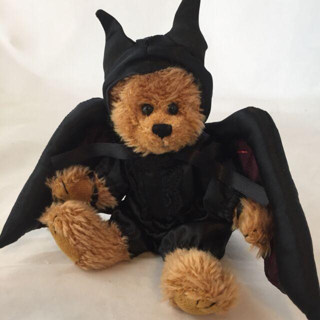 11 Hallmark Plush Stuffed Halloween Bear Vampire Bat Toy Animal Ebay