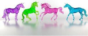 Breyer-Stablemates-Clearware-Glitter-Unicorns-Gift-Set-3-034-x-2-5-034-1-32-Scale
