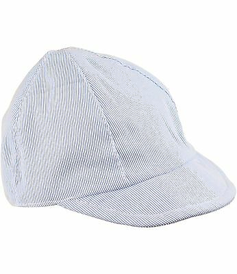 BabyPrem Baby Girls Summer Sun Hats Pink White Beach Bucket Caps NB 3 6 12 18m