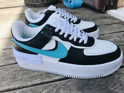 nike air force 1 shadow donna nere e azzurre
