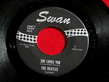 BEATLES~SHE LOVES YOU~~I'LL GET YOU~SWAN 4152~RARE  FIND ~ POP 45