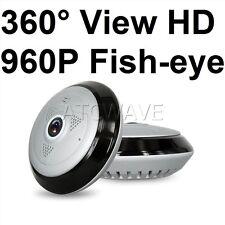 360° HD 960P Fish eye Security Camera P2P WiFi IP Network Cam Night Vision UK