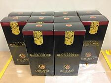 10 Boxes ORGANO GOLD Black Coffee with Ganoderma - Free Shipping! USA Seller!