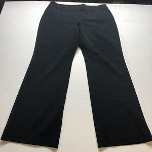 Ann Taylor Curvy Fit Black Dress Pants Size 14 A1471
