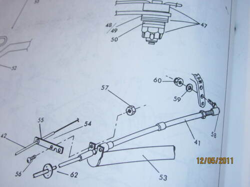 New ACS Throttle Cable Support Grumman Homebuilt bolts MA3 or 4 Marvel Shebler