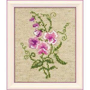 Riolis 1250 Peas Sweet Pea Embroidery Counted Beads Ebay