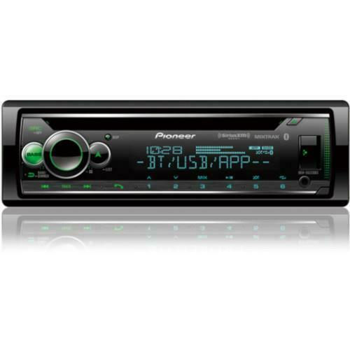 Pioneer Single Din Bluetooth CD Receiver with Smart Sync and Sirius XM Compatibi