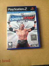 Smack Down Vs Raw  2007   Playstation 2  &  60gb PS3   PAL