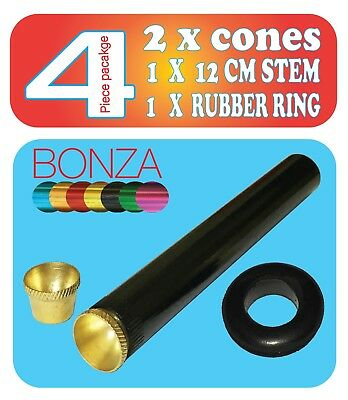 cone pieces  rubber ring Details about  /Bonza Pipe grommet cone pieces and metal pipe