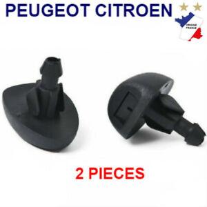 Gicleur de lave-glace avant pour Peugeot 206 206 407 pour Citroen C2 MK1 C5 MK1