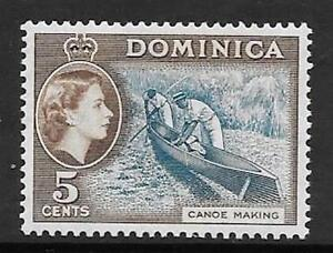 DOMINICA SG147 1957 5c LIGHT BLUE amp SEPIA BROWN  MNH - Staffordshire, United Kingdom - DOMINICA SG147 1957 5c LIGHT BLUE amp SEPIA BROWN  MNH - Staffordshire, United Kingdom
