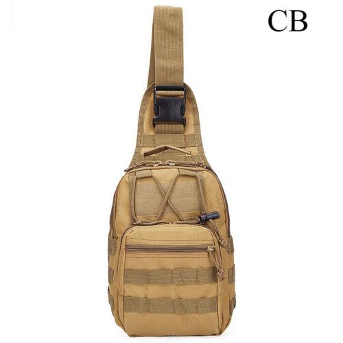 New Tactical Shoulder Bag Messenger Sling Chest Pack Military Outdoor Backpack