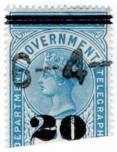 I-B-Ceylon-Telegraphs-20c-on-50c-OP
