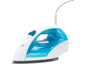 Panasonic NI-E200T Steam//Dry Iron with Titanium Non-Stick Coated Curved Solepla
