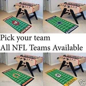 Image Is Loading NFL Man Cave Football Field Runner 30 034