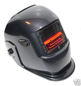 new-Certified-ANSI-CE-Welding-Helmet-Carbon-Fiber-Black