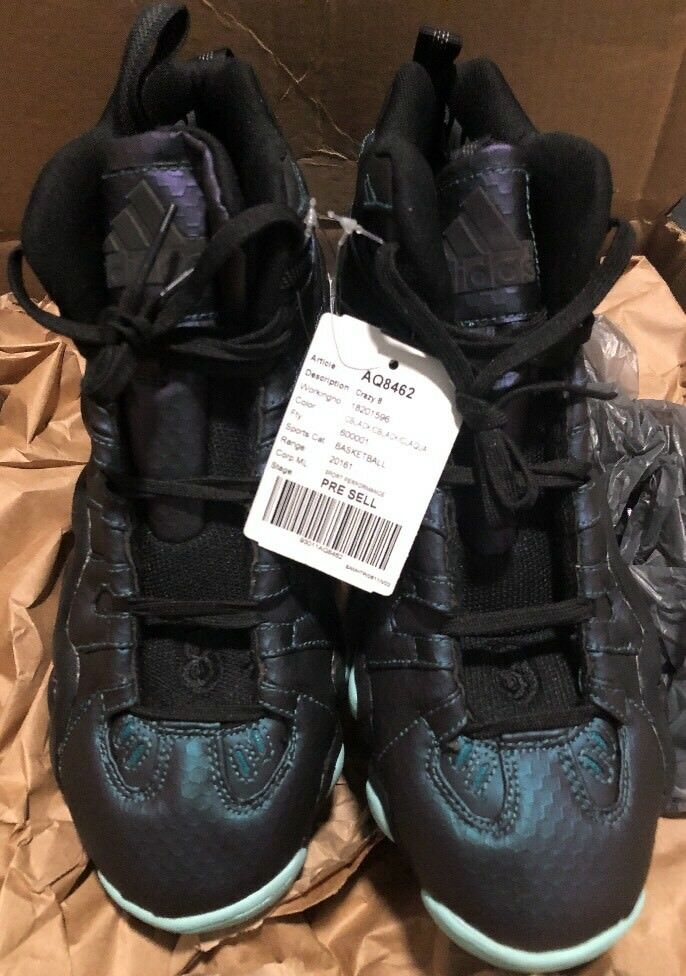 Adidas Sample Not For Resale Oil Slick AQ8462 Crazy 8 Nice Kicks 1/1 Size 9 Kobe