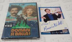 Domani-Si-Balla-Limited-100copie-Card-Autografata-del-Regista-Home-Movies
