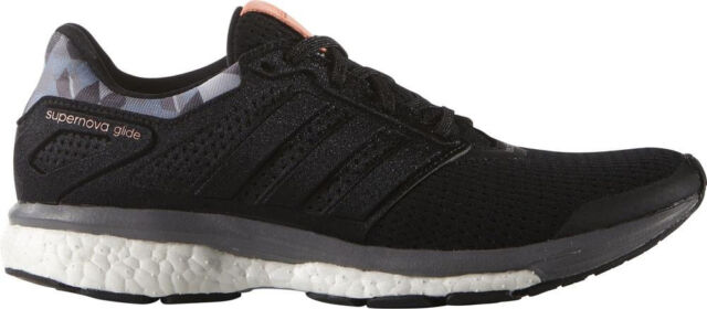 adidas Supernova Glide 8 GFX Boost Womens Running Shoes - Black 0f1b02f3ab72