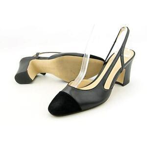 7fcdcef733 Buy Ivanka Trump Liah Women US 6 Black Slingback Heel Pre Owned 1629 ...