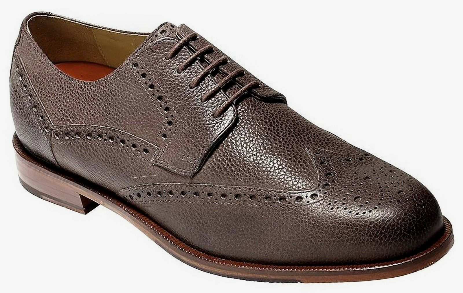 Cole Haan Uomo Carter Grand Wing Oxford Dress Scarpe Chestnut 8 NEW IN BOX