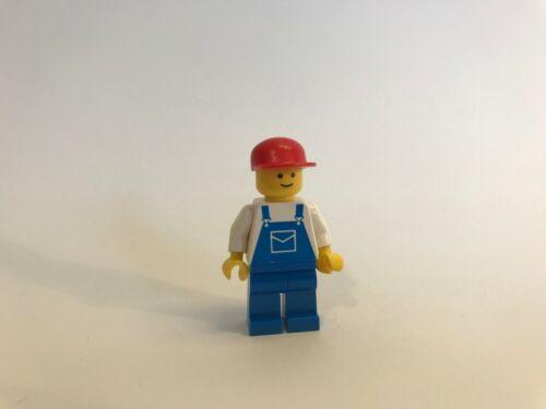 LEGO ® Legoland Town Classic Minifigur ovr003 Arbeiter in Latzhose 9361 9247