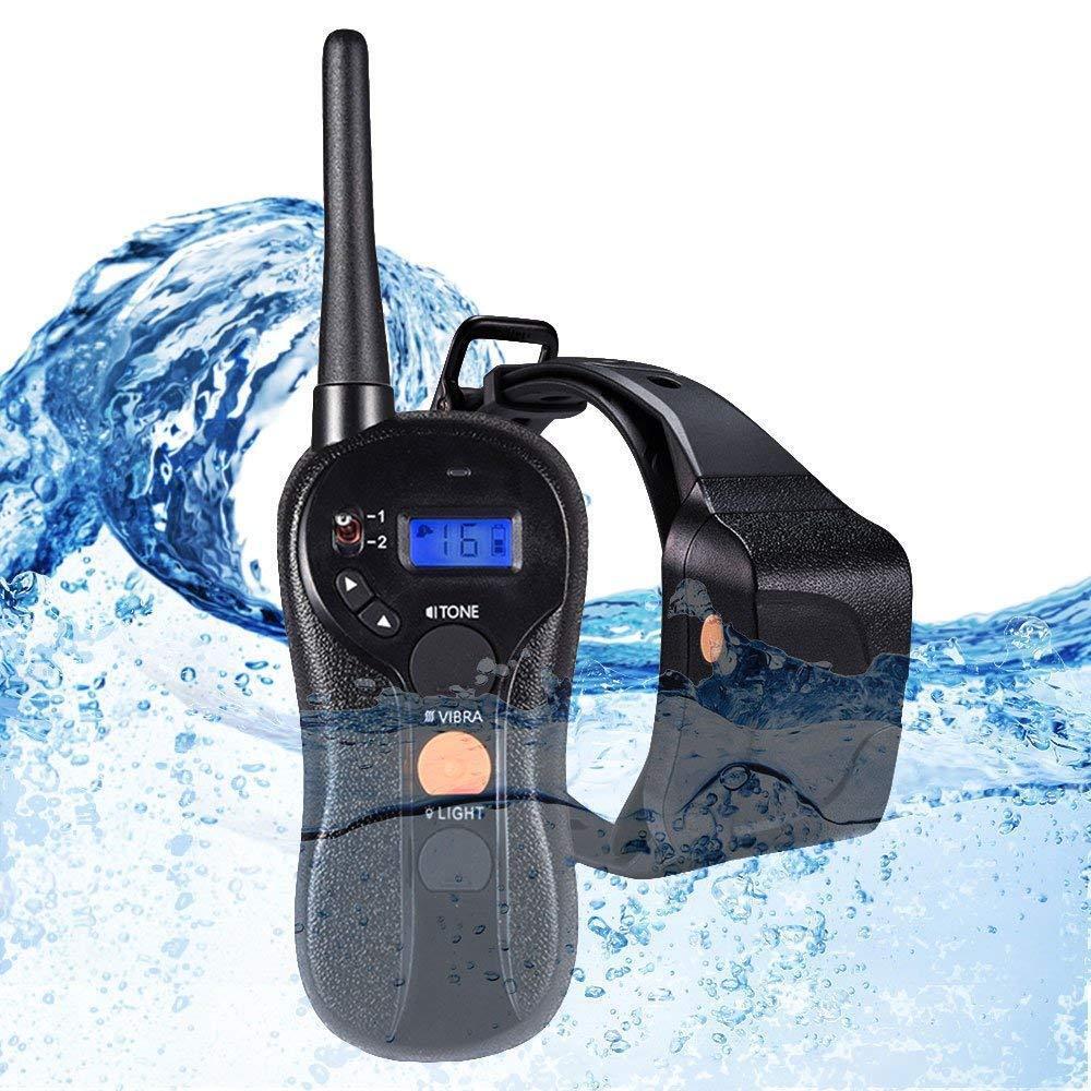 outlet Wolfwill 100% Waterproof Waterproof Waterproof Rechargeable Humane No Shock Remote Dog Training Collar  negozio online